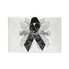 Melanoma Flourish Rectangle Magnet (100 pack)