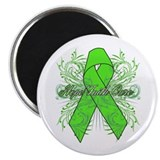 "Lymphoma Flourish 2.25"" Magnet (10 pack)"