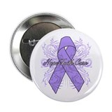General Cancer Flourish 2.25&quot; Button