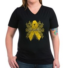 Childhood Cancer Flourish Shirt