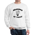 Grandpa of Twins Sweatshirt