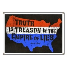 Truth is Treason Banner