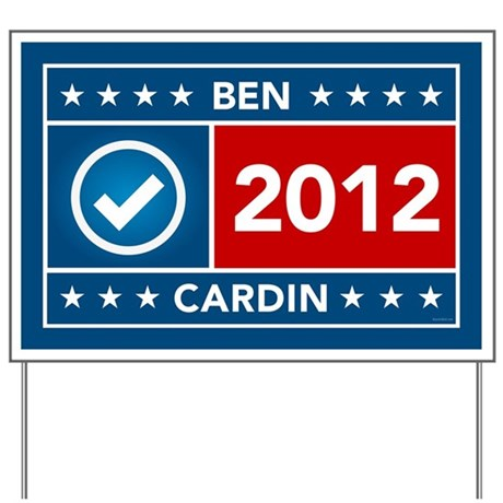 Ben Cardin Yard Sign