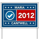 Maria Cantwell Yard Sign