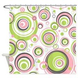 Cute Circles Shower Curtain