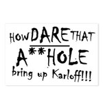 A**hole Karloff Postcards (Package of 8)