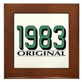 1983 Original Framed Tile