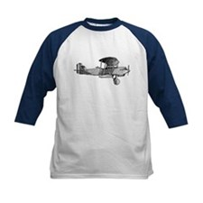 Retro Black and White Plane Tee