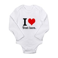 What do you love? Long Sleeve Infant Bodysuit