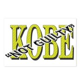 Kobe Not Guilty Postcards (Package of 8)