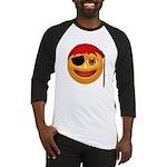 Pirate Smiley Face Baseball Jersey