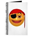 Pirate Smiley Face Journal