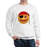 Pirate Smiley Face Sweatshirt