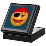 Pirate Smiley Face Keepsake Box