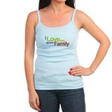 """I Love My Queer Family"" Ladies Top"