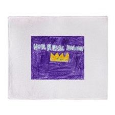Her Royal Highness2.PNG Throw Blanket
