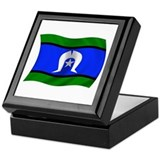 Waving TSI Flag Keepsake Box