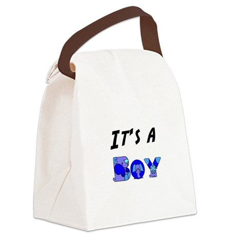 Boy Canvas Lunch Bag