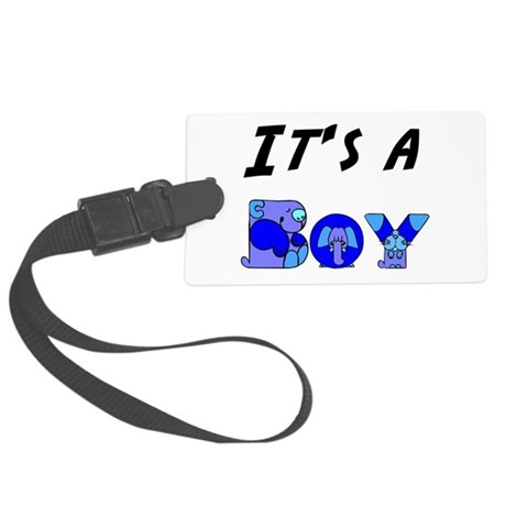 Boy Large Luggage Tag