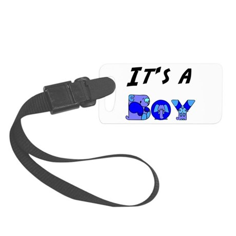 Boy Small Luggage Tag