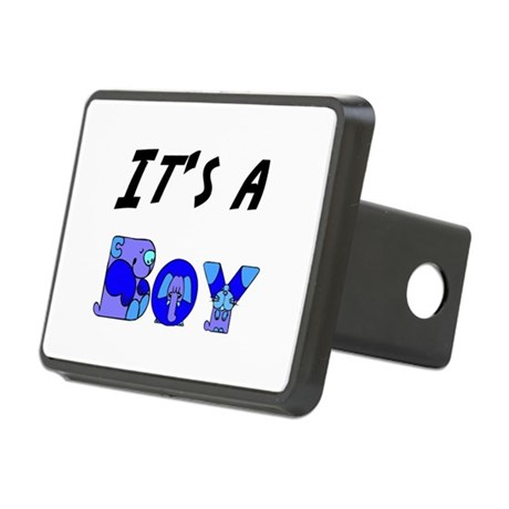 Boy Rectangular Hitch Cover