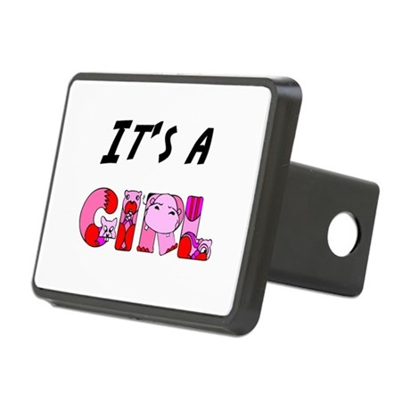Its a GIRL Rectangular Hitch Cover