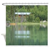 Alaskan Getaway Shower Curtain