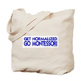 get normalized (bl) Tote Bag