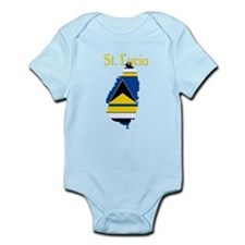 St. Lucia Infant Bodysuit