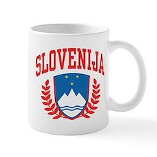 Slovenija Coat of Arms Mug