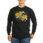 Neuroblastoma Survivor Long Sleeve Dark T-Shirt