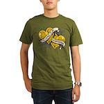 Neuroblastoma Survivor Organic Men's T-Shirt (dark