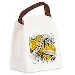 Neuroblastoma Survivor Canvas Lunch Bag