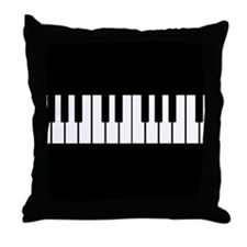 Unique Instruments Throw Pillow