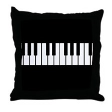 Cute Musical instrument Throw Pillow
