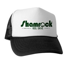 SHAMROCK LOGO 1 GREEN Trucker Hat