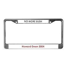Cool Howard dean License Plate Frame
