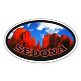 Sedona Desert Circle Decal