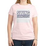 Swing Evangelist Women's Pink T-Shirt