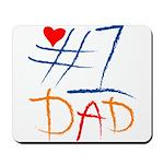#1 Dad Mousepad