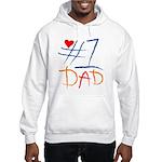 #1 Dad Hooded Sweatshirt