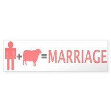 Man + Sheep = Marriage