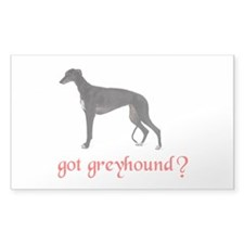 GOT GREYHOUND Decal