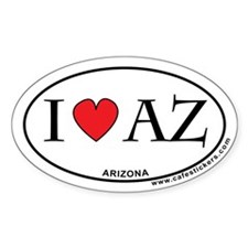 I Love Arizona Decal