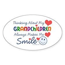 I Love My Grandchildren Decal