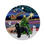 Xmas Magic & PWD Ornament (Round)