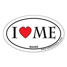 I Love Maine Decal