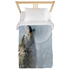 Wolf Blue Moon Twin Duvet