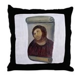 Jesus Fresco Throw Pillow