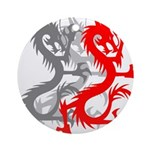 OYOOS Dragon design Ornament (Round)